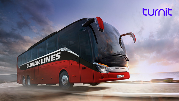 Slovak Lines Turnit bus ticket reservation platform